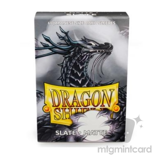 Dragon Shield 60 - Deck Protector Sleeves - Japanese size Matte Slate - AT-11127