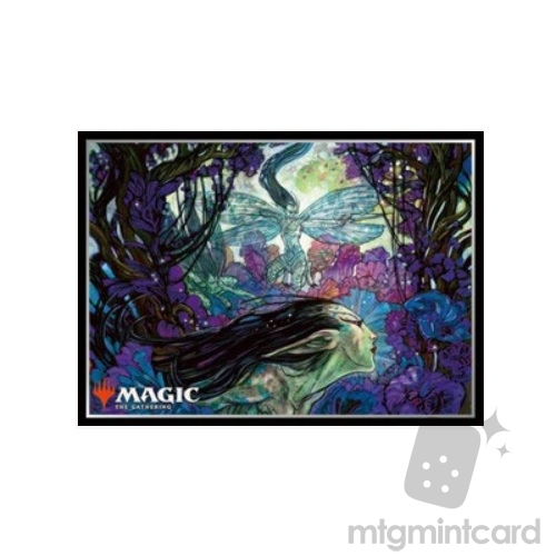 Ensky 80 - Magic MTG Players Card Sleeves - Bitterblossom - MTGS-048