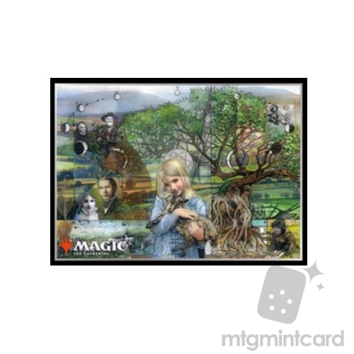 Ensky 80 - Magic MTG Players Card Sleeves - Descendants' Path - MTGS-051