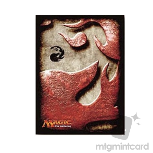 Ensky 80 - Magic MTG Players Card Sleeves - Mana Symbol - Mountain - MTGS-020