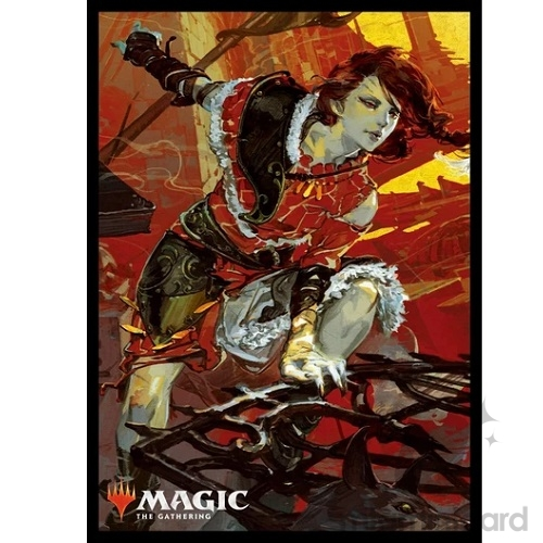 Ensky 80 - Magic MTG Players Card Sleeves - War of the Spark - Arlinn, Voice of the Pack - MTGS-084
