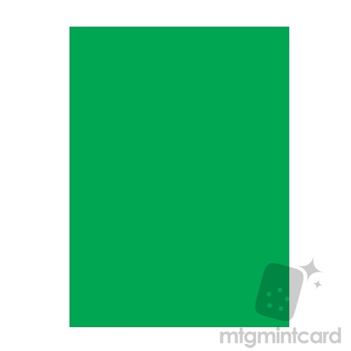 Legion Supplies 50 - Double Matte Deck Protector Sleeves - Green - GRNDMT