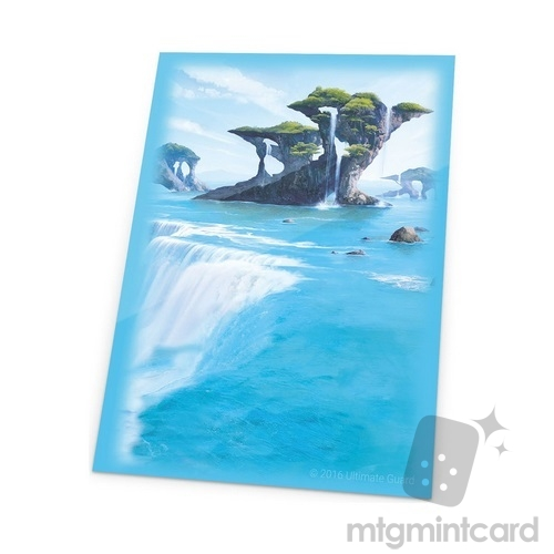 Ultimate Guard 80 - Printed Sleeves Lands Edition - Island I - UGD010636