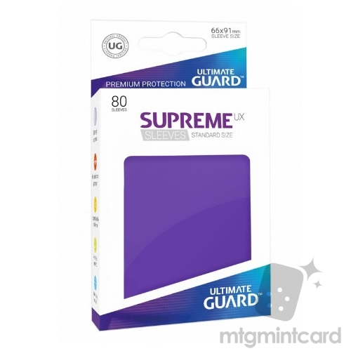 Ultimate Guard 80 - Supreme UX Sleeves Standard Size - Purple - UGD010542