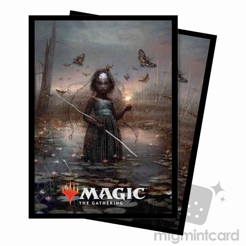 Ultra PRO 100 Magic Deck Protector Sleeves - Commander 2018 - v1 Aminatou, the Fateshifter - 86871
