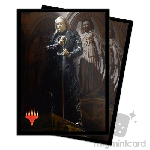 Ultra PRO 100 Magic Deck Protector Sleeves - Core Set 2020 - v3 Sorin, Imperious Bloodlord - 18101