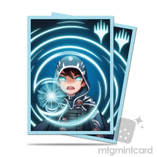 Ultra Pro 100 - Magic Standard Deck Protector - Chibi Collection Jace - Mystic - 86912