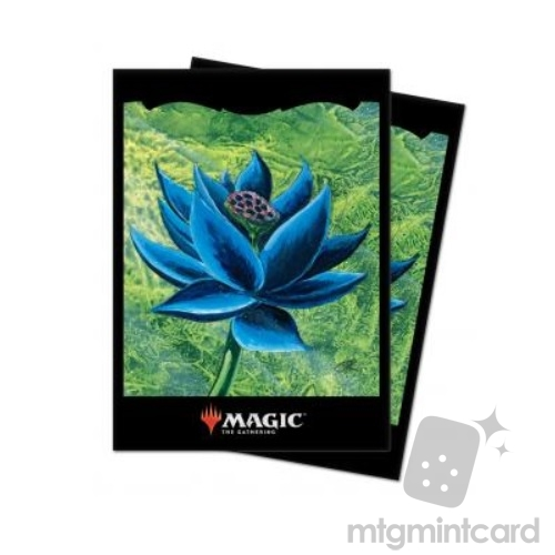 Ultra Pro 100 - Magic the Gathering Standard Deck Protector Sleeves - Black Lotus - 86838