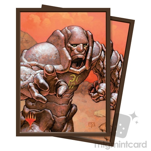 Ultra Pro 100 - Magic the Gathering Standard Deck Protector Sleeves - Karn, Silver Golem - 86883