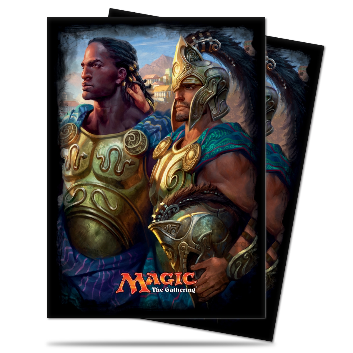 Ultra PRO 120 Magic Deck Protector Sleeves – Commander 2016 - Kynaios and Tiro of Meletis - 86476