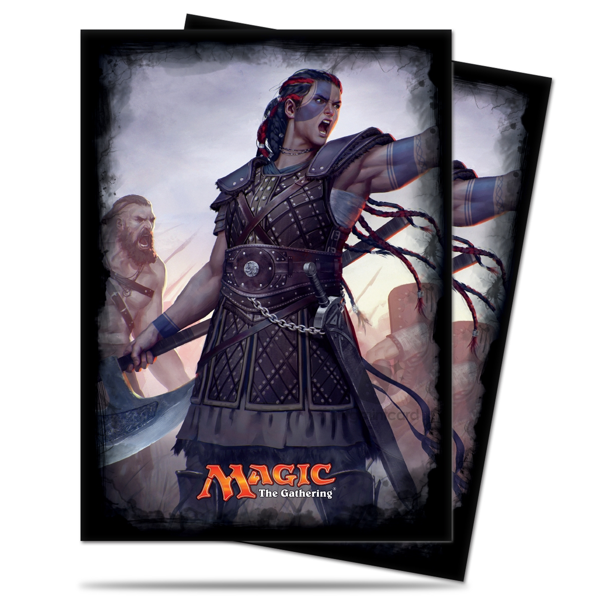 Ultra PRO 120 Magic Deck Protector Sleeves – Commander 2016 - Saskia the Unyielding - 86477