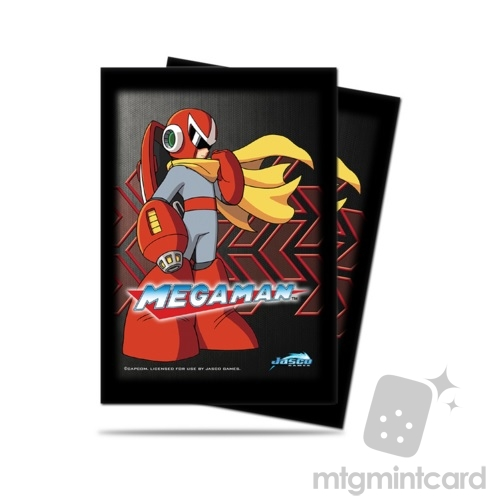 Ultra PRO 50 - Standard Deck Protector Sleeves - Megaman - Protoman - 80566