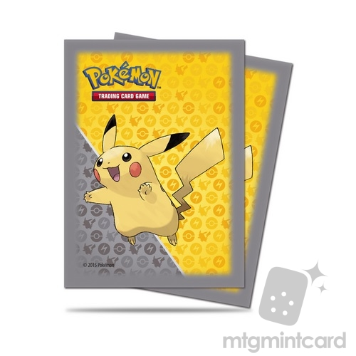 Ultra PRO 65 - Standard Deck Protector Sleeves - Pokemon - Pikachu - 84557