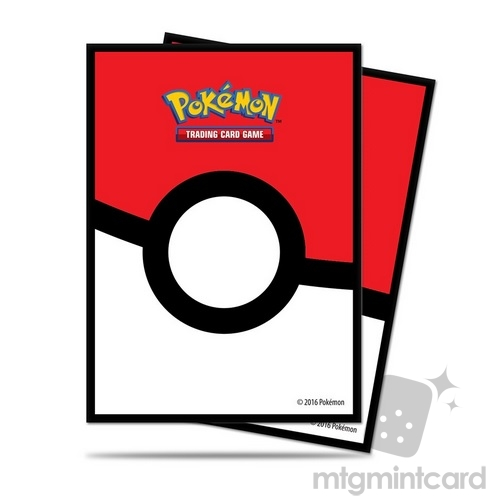 Ultra PRO 65 - Standard Deck Protector Sleeves - Pokemon - Pokeball - 85120