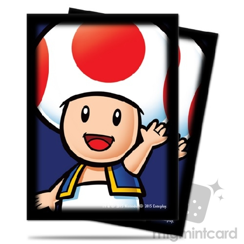 Ultra PRO 65 - Standard Deck Protector Sleeves - Super Mario: Toad - 84668