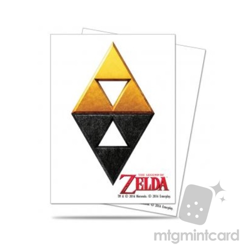 Ultra PRO 65 - Standard Deck Protector Sleeves - The Legend of Zelda - Tri-Force Deck - 85209