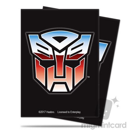 Ultra PRO 65 - Standard Deck Protector Sleeves - Transformers - Autobots - 84976