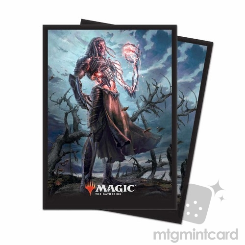 Ultra PRO 80 Magic Deck Protector Sleeves - Core Set 2019 - v2 Tezzeret, Artifice master - 86784
