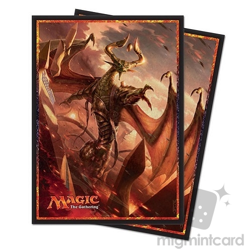 Ultra PRO 80 Magic Deck Protector Sleeves - Hour of Devastation - v1 Nicol Bolas - 86568