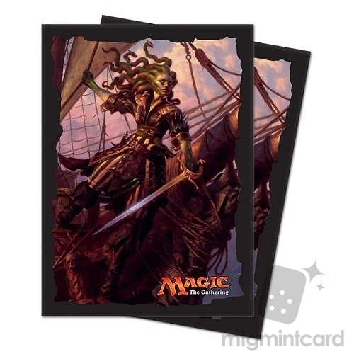 Ultra PRO 80 Magic Deck Protector Sleeves - Ixalan - v2 Vraska Relic Seeker - 86615
