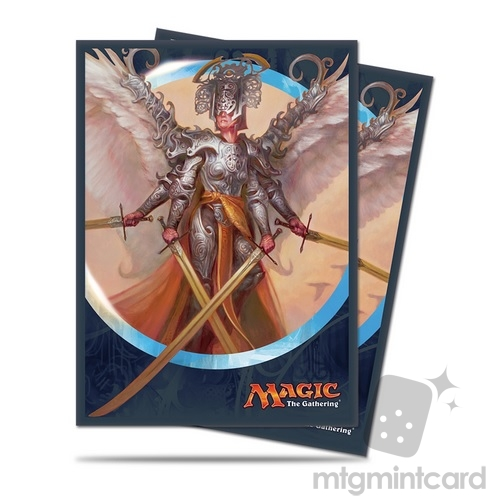 Ultra PRO 80 Magic Deck Protector Sleeves – Kaladesh - v1 Angel of Invention - 86408