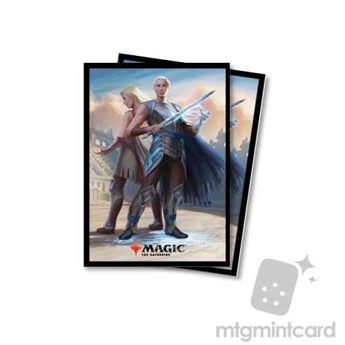 Ultra PRO 80 Magic the Gathering Deck Protector Sleeves - Battlebond - v1 Will Kenrith - 86845