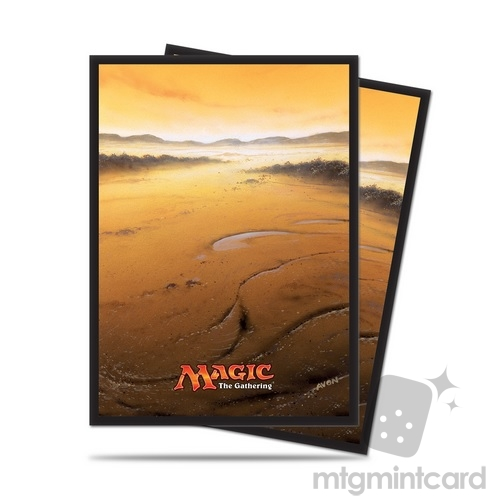 Ultra PRO 80 Magic the Gathering Deck Protector Sleeves - Mana 5 - Plains - 86454