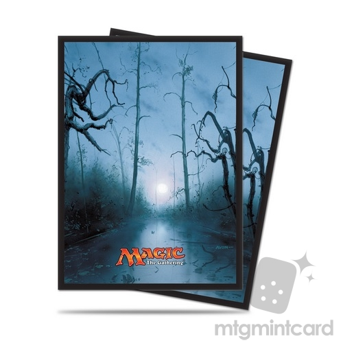 Ultra PRO 80 Magic the Gathering Deck Protector Sleeves - Mana 5 - Swamp - 86456