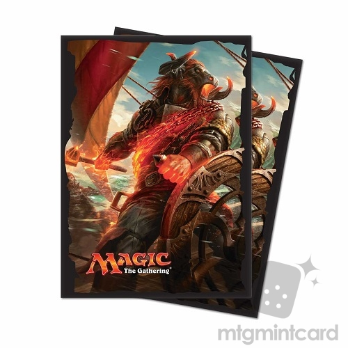 Ultra PRO 80 Magic the Gathering Deck Protector Sleeves - Rivals of Ixalan - v1 - 86652