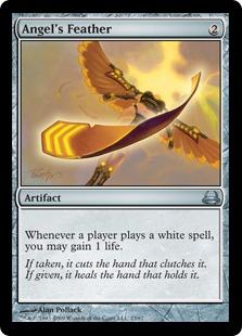 ANGEL/'S FEATHER X4 Duel Decks Divine Vs Demonic Magic MTG MINT CARD
