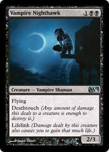 VAMPIRE NIGHTHAWK X4 Explorers Of Ixalan Magic MTG MINT CARD