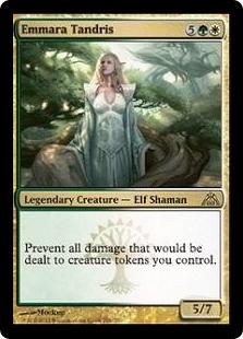 EMMARA TANDRIS X4 Dragon/'s Maze DGM Magic MTG MINT CARD