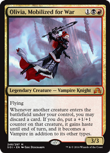 MTG X2: Vampire Knight Token Shadows over Innistrad FREE US SHIPPING! C LP