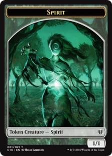 GOBLIN TOKEN 11//21 X4 Commander 2016 Magic MTG CARD // ZOMBIE TOKEN 12//21