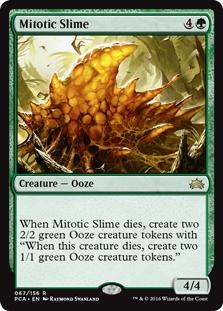 Mitotic Slime x1 Planechase Anthology  NM-Mint English unplayed mtg