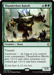 UNEXPECTEDLY ABSENT X4 Commander Anthology Magic MTG MINT CARD