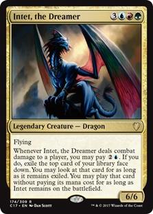 NM X4 Intet the Dreamer Commander 2017  MTG Magic Gold Rare