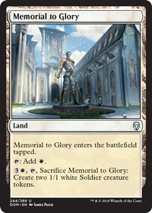 4x Memorial to Folly NM-Mint English Dominaria MTG Magic