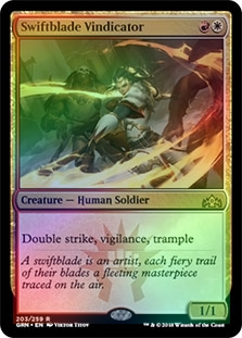 Swiftblade Vindicator ~ Guilds of Ravnica ~ MINT//NearMint ~ Magic MTG