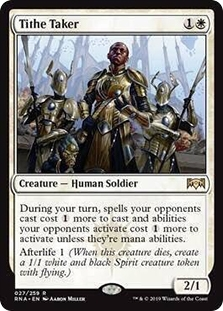 4 Smothering Tithe ~ Japanese ~ NM ~ Ravnica Allegiance ~ Playset ~ MTG ~ Magic