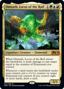 Omnath Locus of the Roil Near Mint Normal English Magic 2020 Core Set Card MTG