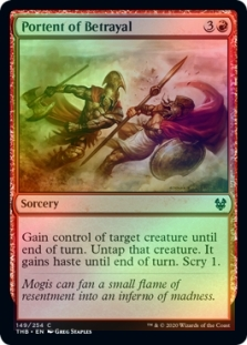 FOIL SLAUGHTER-PRIEST OF MOGIS X4 Theros Beyond Death THB Magic MTG MINT CARD