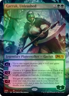 GARRUK/'S HARBINGER X4 Core Set 2021 M21 Magic MTG MINT CARD